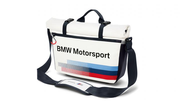 BMW Motorsport Messenger Bag & BMW M Kulturtasche