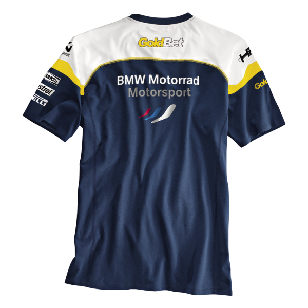 bmw t shirt motorsport herren kurzarm lifestyle. Black Bedroom Furniture Sets. Home Design Ideas