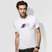 M Herren Fan T-Shirt ,,Weiß