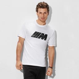"""M Herren T-Shirt mit Carbon Applikation ,,Weiß"""""""