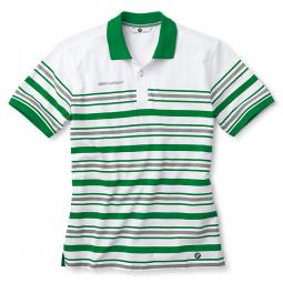 Herren Poloshirt Golfsport, gestreift