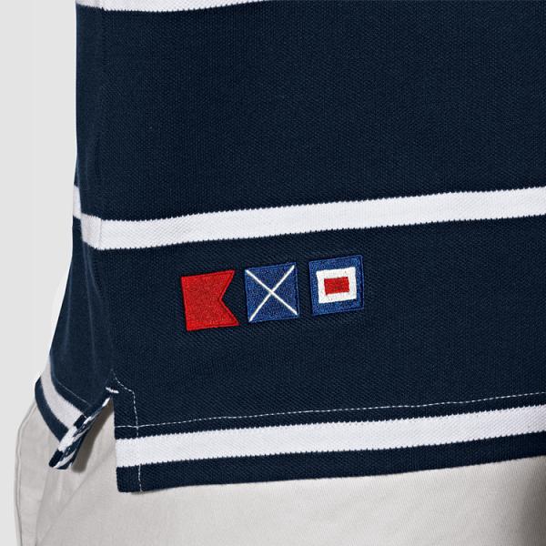 Herren Poloshirt Yachting