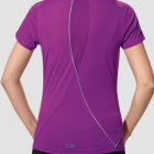 Damen Athletics Running T-Shirt, V-Neck